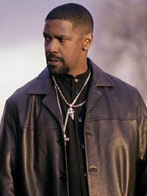 Detective AlonzoTraining Day Black Coat