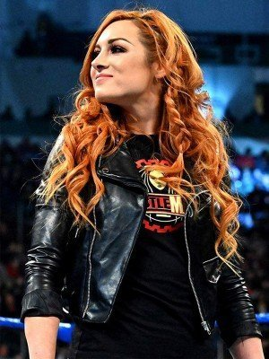 WWE Becky Lynch Biker Leather Jacket