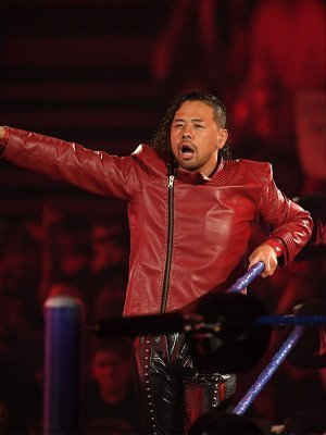 Shinsuke Nakamura WWE Red Leather Jacket