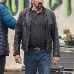 Willys Wonderland Nicolas Cage Leather Jacket