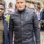 Woody Harrelson The Man from Toronto Black Jacket