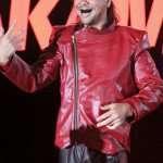 Wrestler Shinsuke Nakamura Leather Jacket