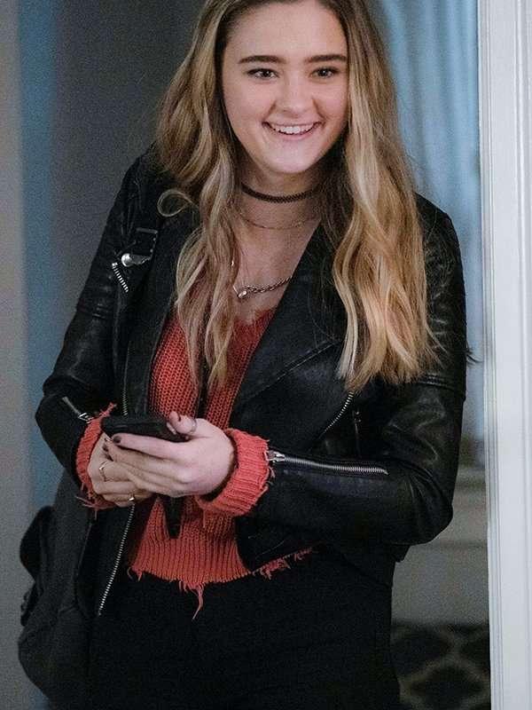 A Million Little Things Sophie Dixson Black Leather Jacket
