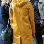 A Rainy Day in New York Rebecca Hall Coat