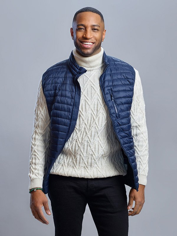 A Winter Getaway Joe Franklin Vest