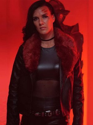 Natalie Burn Acceleration Black Leather Jacket