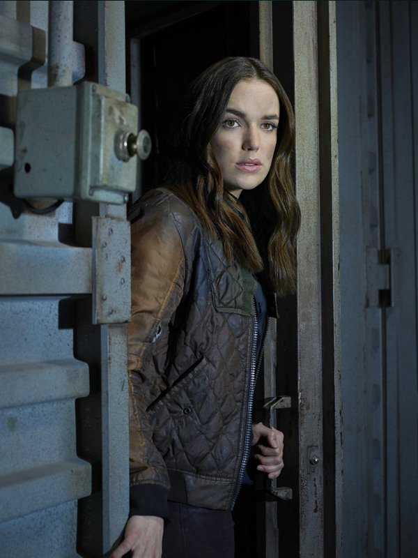 Agents Of Shield Jemma Simmons Quilted Jacket