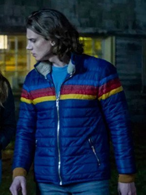 Ace Nancy Drew Blue Puffer Jacket