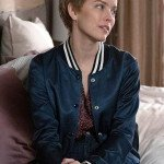 Allison Miller A Million Little Things Blue Varsity Jacket
