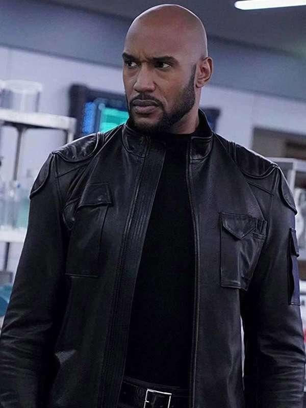 Alphonso Mackenzie Agents of Shield Jacket