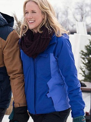 Julia Miller Amazing Winter Romance Blue Jacket