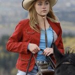 Amber Marshall Heartland Amy Fleming Red Jacket