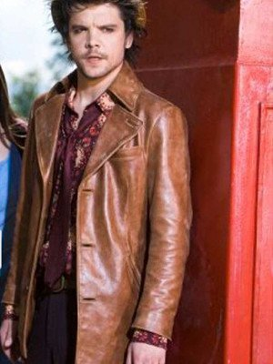 Alice Andrew Lee Potts Brown Leather Jacket