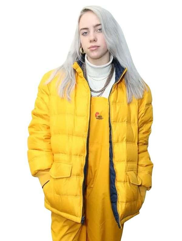 Billie Eilish Yellow Jacket