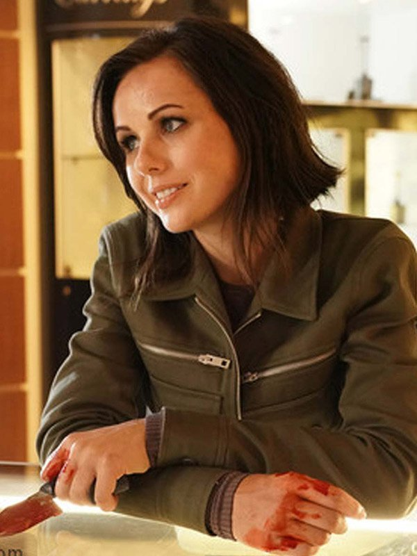 Brooke Williams Agents of Shield Green Jacket