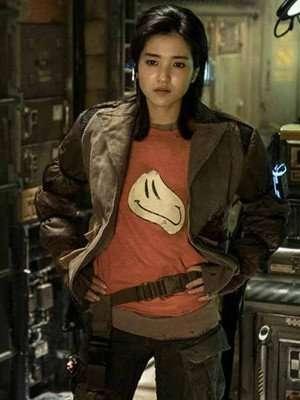 Space Sweepers Kim Tae-Ri Brown Jacket