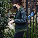 Dakota Johnson Am I OK Varsity Jacket