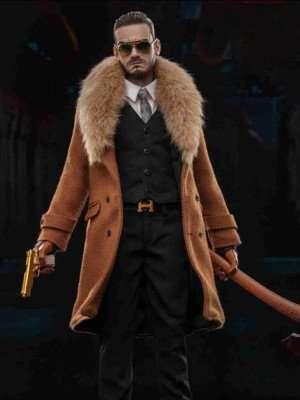 Gangsters Kingdom Spade David Shearling Coat
