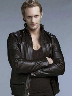Alexander Skarsgard Leather Jacket