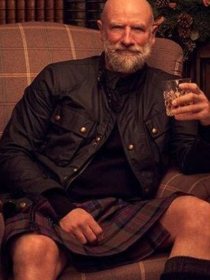 Graham McTavish Men in Kilts: A Roadtrip with Sam and Graham Black Jacket