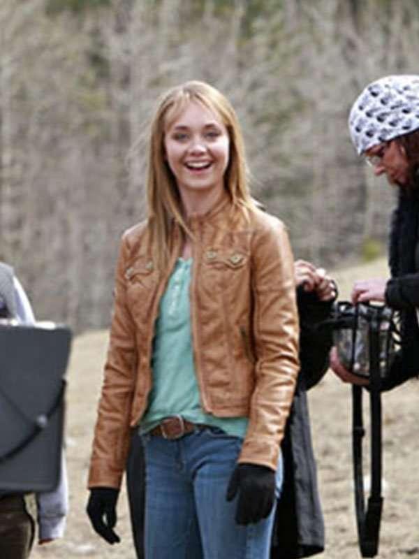 Heartland Amy Fleming Leather Jacket