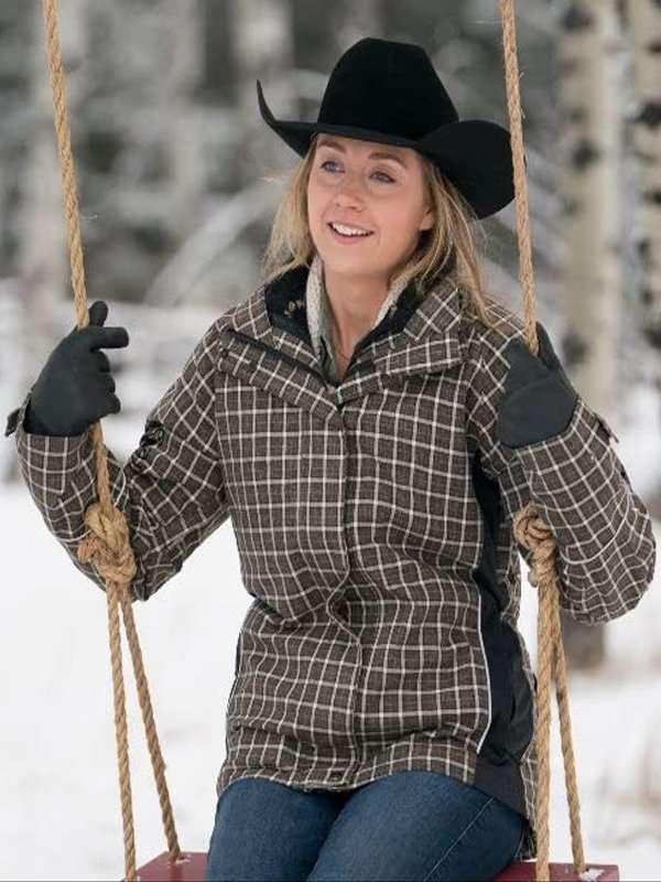 Heartland Amy Fleming Plaid Jacket