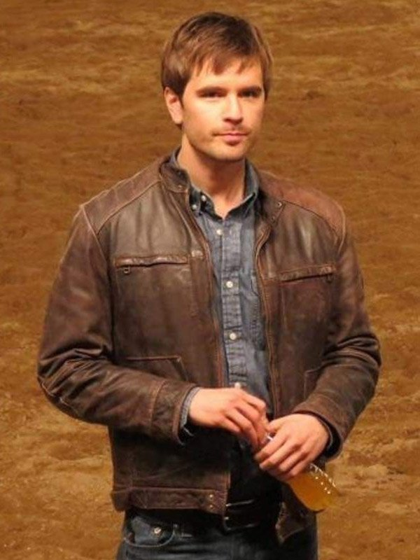 Heartland Graham Wardle Brown Leather Jacket