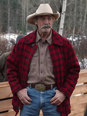 Heartland Jack Bartlett Red Plaid Jacket