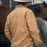 Heartland Shaun Johnston Brown Cotton Jacket