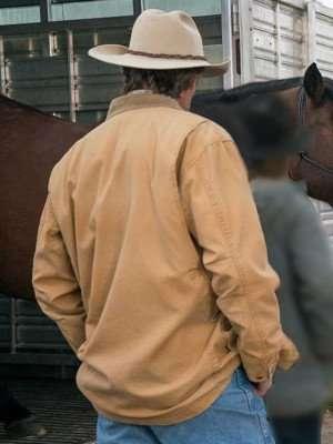 Jack Bartlett Heartland Brown Cotton Jacket