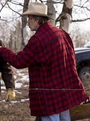 Heartland Jack Bartlett Red Plaid Jacket