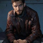 Jeff Ward Agents of Sheild Deke Shaw Brown Leather Jacket