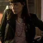 Lorraine The Vault Black Leather Jacket