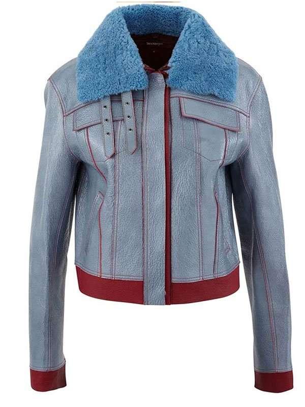 Love Life Zoe Chao Leather Jacket