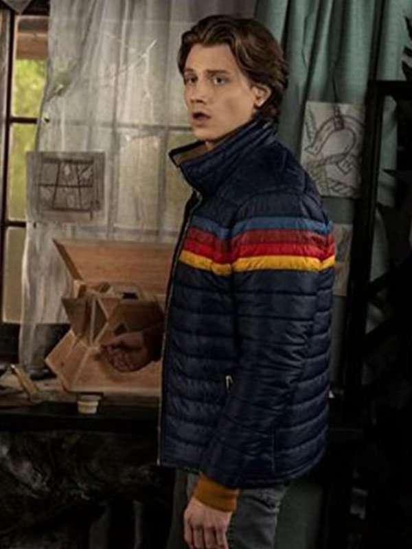 Nancy Drew Ace Blue Puffer Jacket