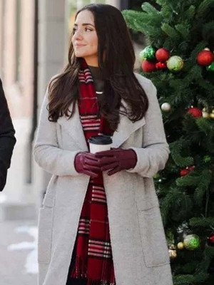 Paniz Zade Dashing Home for Christmas Coat