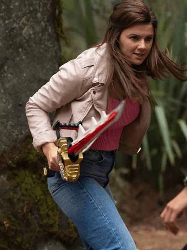 Power Rangers Dino Fury Amelia Jones Jacket