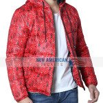 Red Bandana Print Jacket