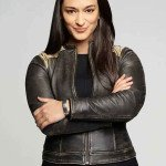Resident Alien Asta Twelvetrees Leather Jacket