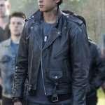 Riverdale Sweet Pea Black Motorcycle Leather Jacket