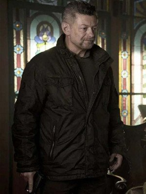 SAS Red Notice Andy Serkis Jacket
