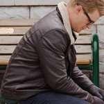 Simon Dashing Home for Christmas Black Leather Jacket