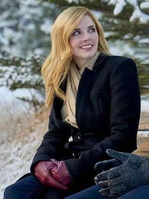 Snowkissed Kate Black Wool Coat