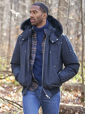 The Bachelor Matt James Blue Hooded Jacket
