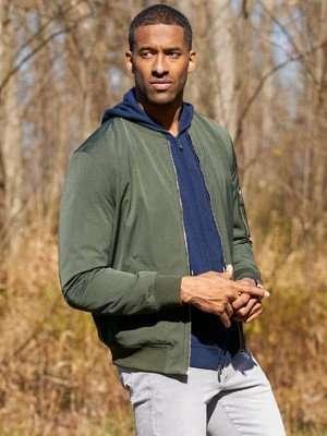 The Bachelor Matt James Green Bomber Jacket