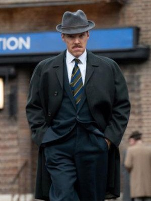 The Courier Benedict Cumberbatch Black Trench Coat