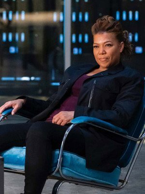 The Equalizer 2021 Queen Latifah Black Coat