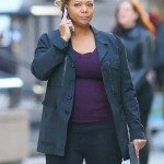 The Equalizer 2021 Robyn McCall Black Coat