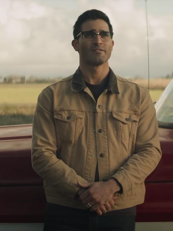 Tyler Hoechlin Superman and Lois Cotton Jacket