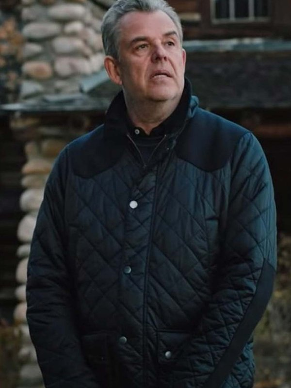 Yellowstone Danny Huston Quilted Jacket